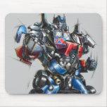 Bosquejo primero 2 de Optimus Alfombrillas De Ratones
