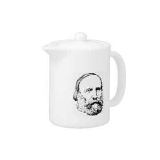 Bosquejo realista de Giuseppe Garibaldi