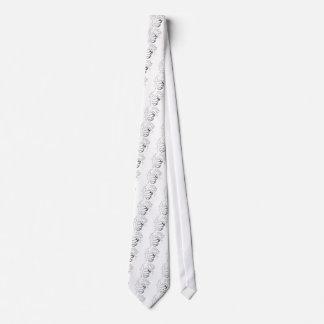 Bosquejo retro del choque del arte pop corbata