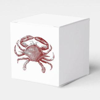 Bosquejo rojo malhumorado de sensación del caja para regalos de fiestas