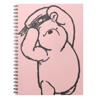 Bosquejo Winnie the Pooh 1 Libro De Apuntes