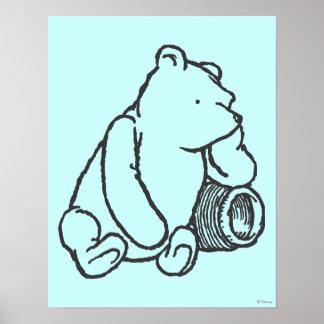 Bosquejo Winnie the Pooh 2 Póster