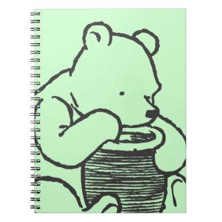 Bosquejo Winnie the Pooh 3 Libro De Apuntes