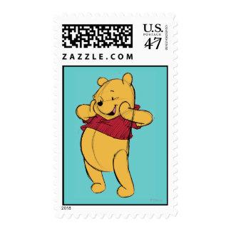 Bosquejo Winnie the Pooh Sello