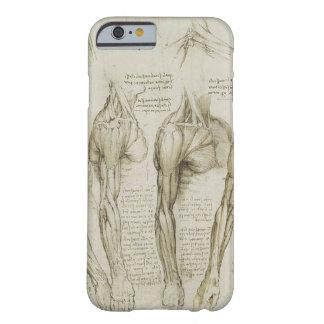 Bosquejos humanos de la anatomía del brazo de da funda de iPhone 6 barely there