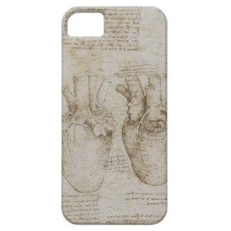 Bosquejos humanos de la anatomía del corazón de da iPhone 5 Case-Mate cárcasa