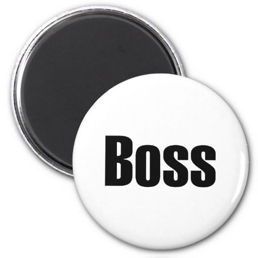 Boss 2 Inch Round Magnet
