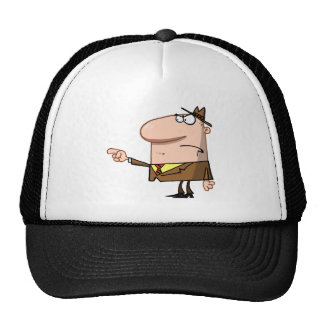 Boss Angry Finger Pointing Trucker Hat