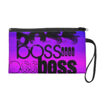 Boss; Azul violeta y magenta vibrantes