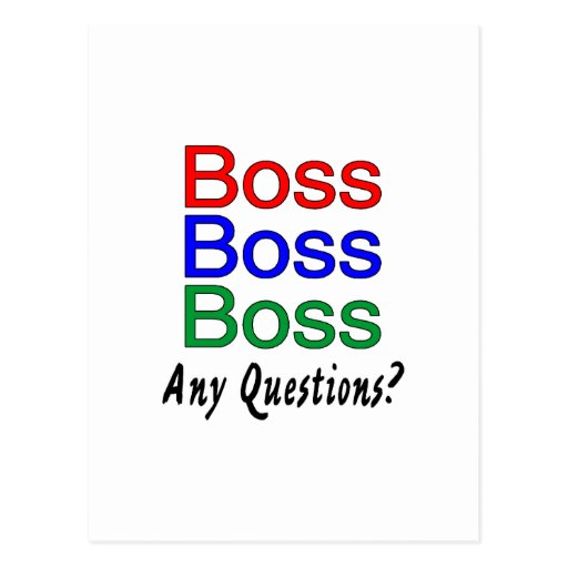 Boss Boss Boss Postal
