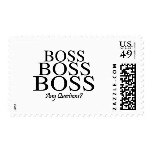 ¿Boss Boss Boss, preguntas?
