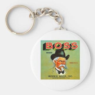 Boss Brand Keychain