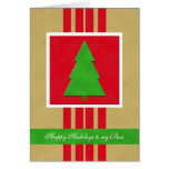 Boss Christmas Card -- A Velvet  Looking Christmas