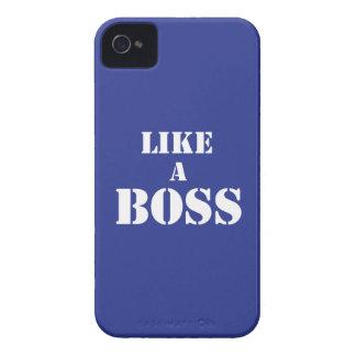 Boss corporativo iPhone 4 cobertura