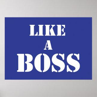 Boss corporativo impresiones
