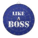 Boss corporativo tablero de dardos