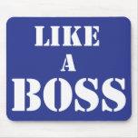 Boss corporativo tapete de raton