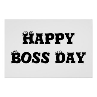 Boss Day Poster