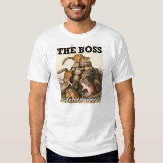 Boss de toda la camiseta divertida de los remera
