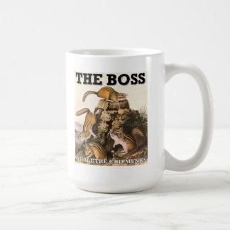 Boss de toda la taza divertida de los Chipmunks