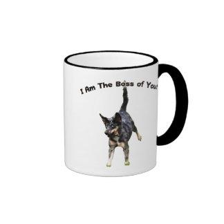 Boss de usted perro de Catahoula Taza De Dos Colores