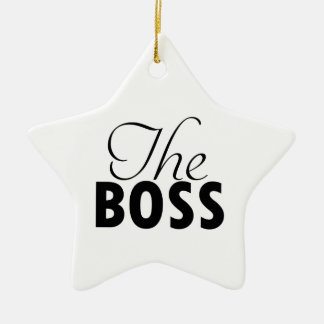 boss  designs ceramic ornament