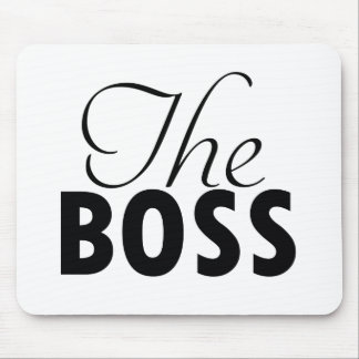 boss  designs mouse pad