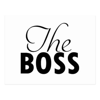 boss  designs postcard