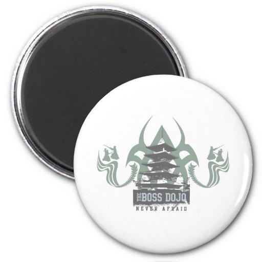 Boss Dojo 2 Inch Round Magnet