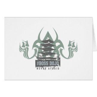 Boss Dojo Card