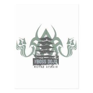 Boss Dojo Postcard
