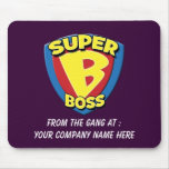 Boss estupendo adaptable Mousepad Tapetes De Raton