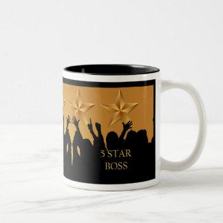 Boss Five 5 Star Cheers Mug