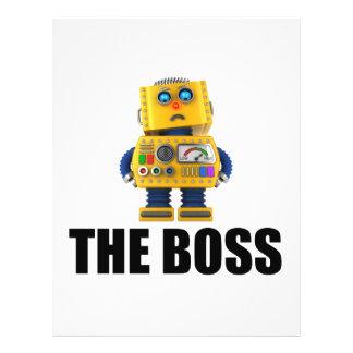 """Boss Folleto 8.5"""" X 11"""""""