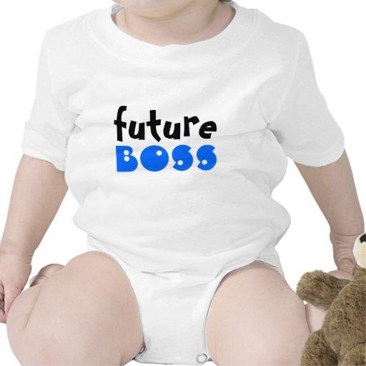 Boss futuro traje de bebé