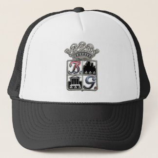 BOSS-GAME-LOGO-J-Peg Trucker Hat