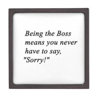 Boss Gift Box
