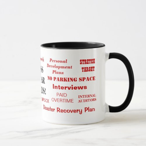 Boss Gift Mug _ Annoying Joke _ Boss Swear Words