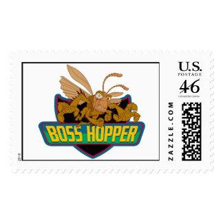 Boss Hopper Logo Disney Stamp