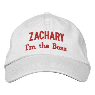 BOSS I'm the Boss Hat with Custom Name V07