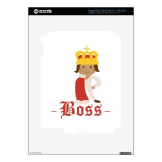 Boss iPad 3 Decal