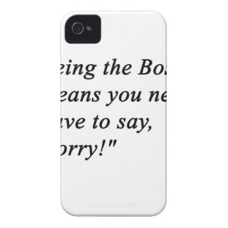 Boss iPhone 4 Case