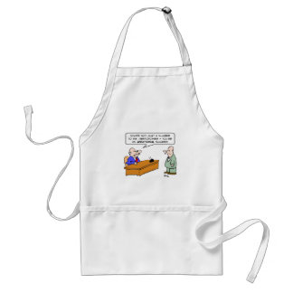 boss irrational number businessman adult apron