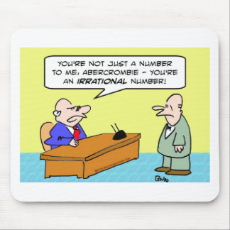 boss irrational number businessman mouse pad