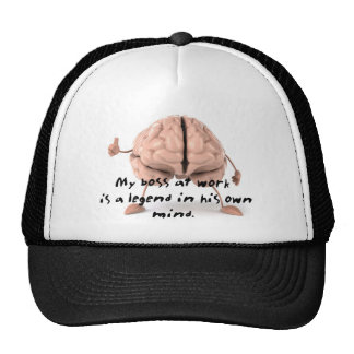 Boss is a Legend Trucker Hat