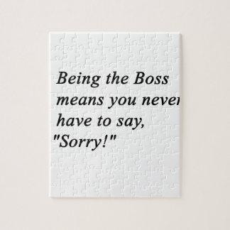 Boss Jigsaw Puzzle