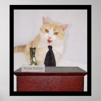 Boss Kitty Poster