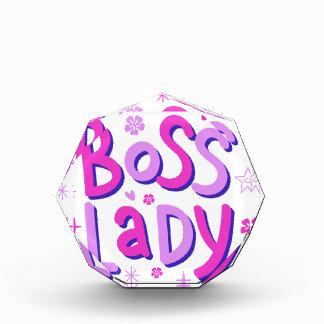 Boss lady award