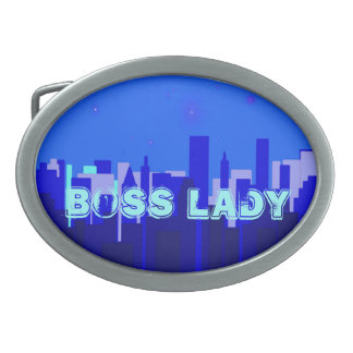 Boss Lady Belt Buckle