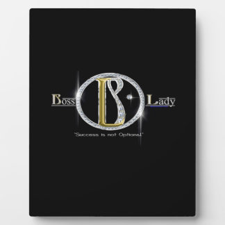 Boss Lady Bling Plaque